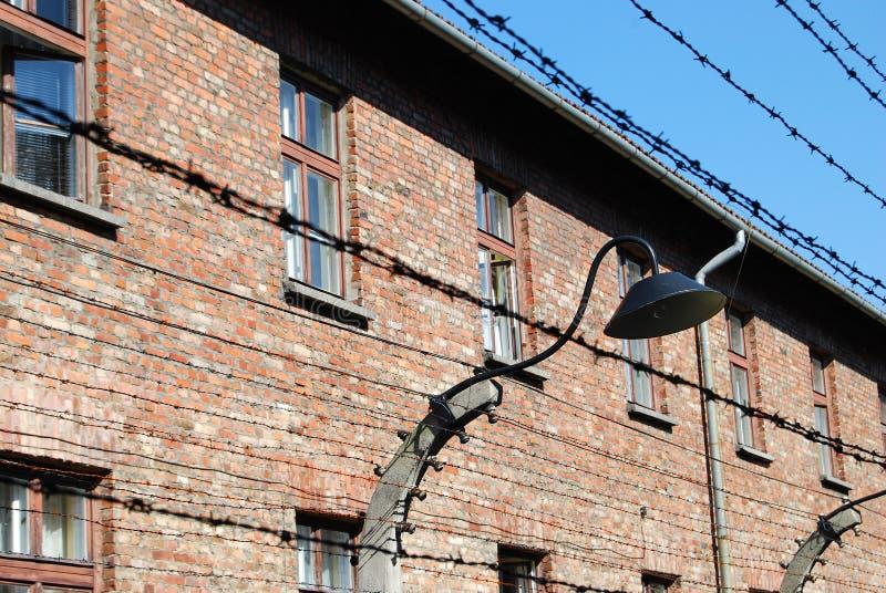 Auschwitz I. Concentration camp Auschwitz - Birkenau in Poland royalty free stock photo