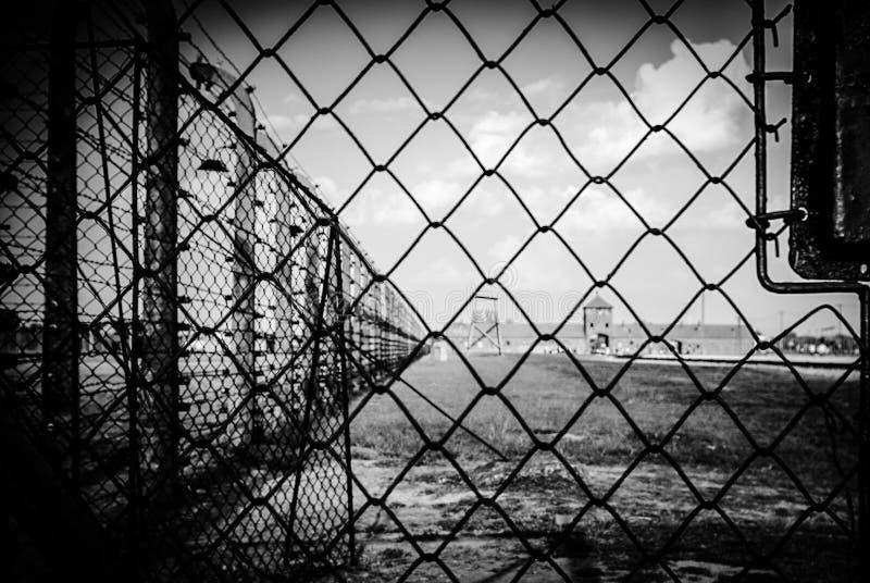 Auschwitz II - Birkenau, POLEN arkivbild
