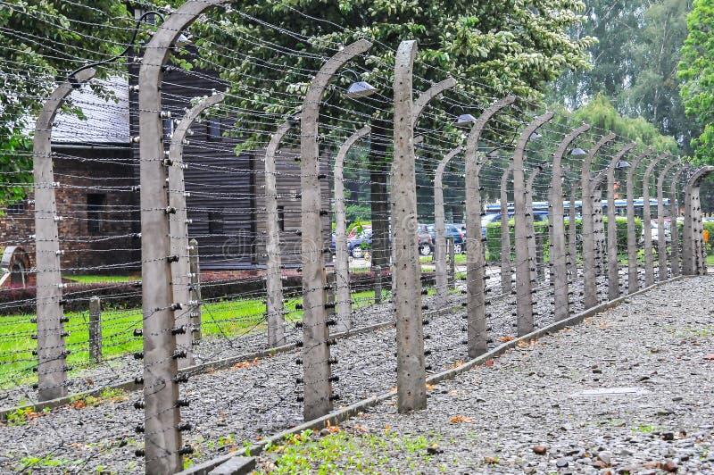 Auschwitz, il peggio che è accaduto mai ad umanità immagine stock libera da diritti