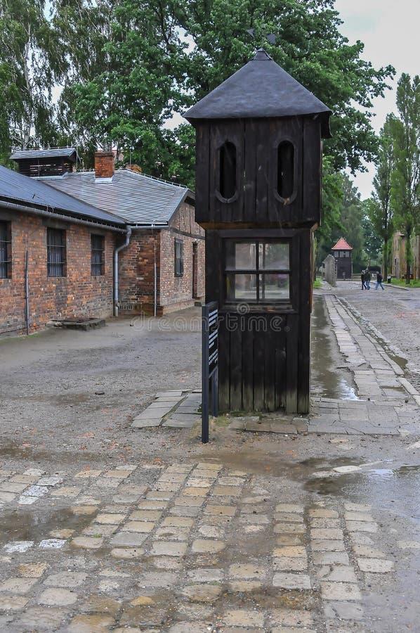 Auschwitz, il peggio che è accaduto mai ad umanità fotografie stock libere da diritti