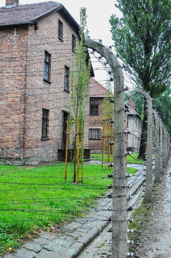 Auschwitz, il peggio che è accaduto mai ad umanità fotografie stock