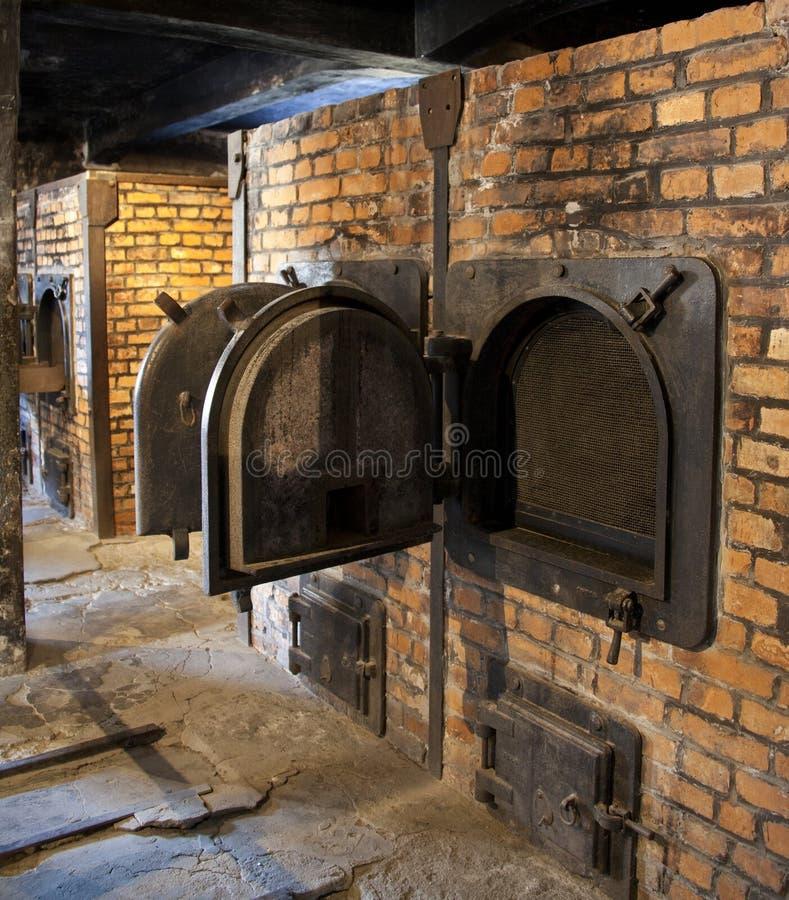 Auschwitz-Konzentrationslager - Polen stockfotos