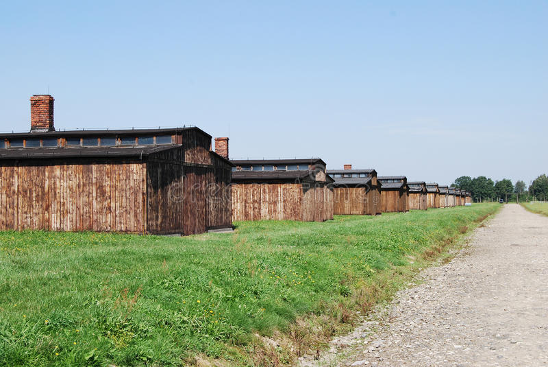 Auschwitz - part BIIa royalty free stock photo