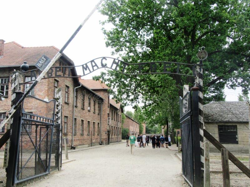 Auschwitz 2019 fotos de stock