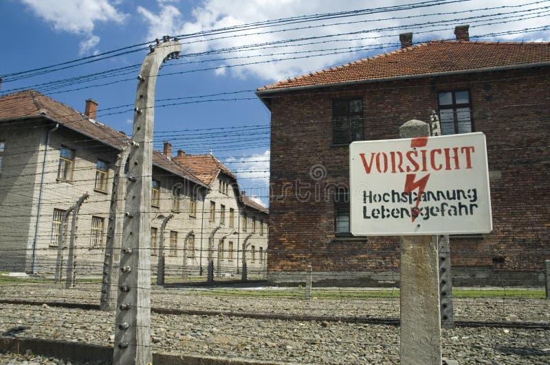 Auschwitz - warning