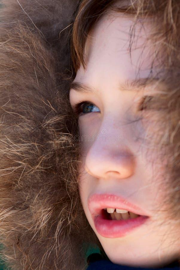 Ausdruck des Kindes lizenzfreie stockfotografie