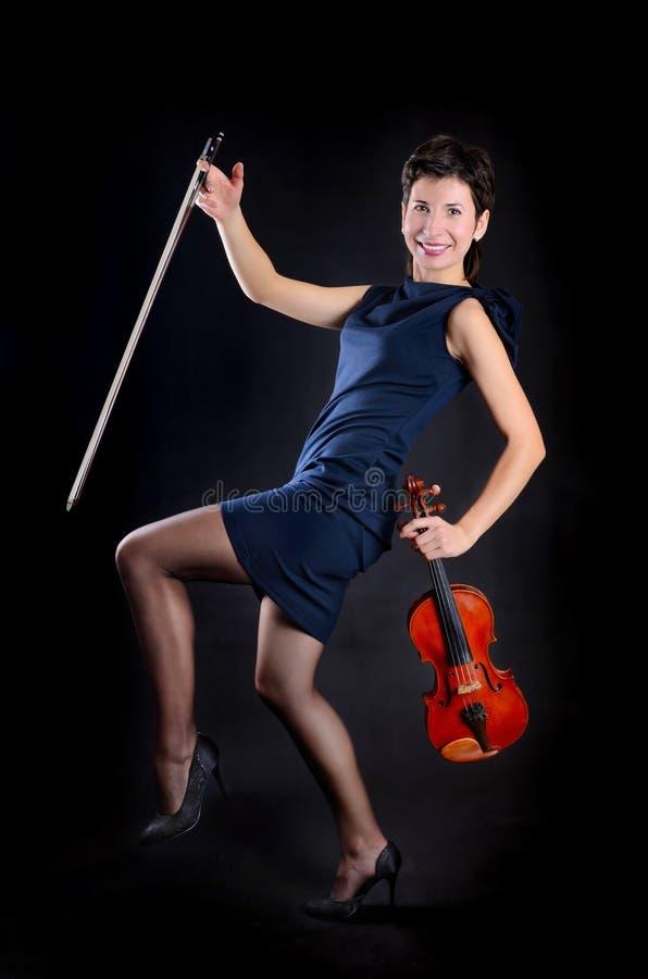Ausdruck-Violinist stockbilder