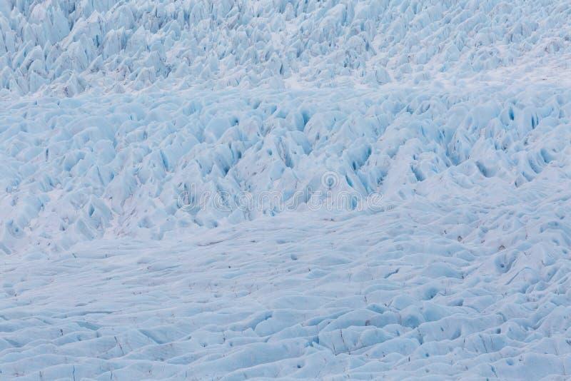 Ausführliche Oberflächenstruktur von Vatnajokull-Gletscher lizenzfreie stockfotos