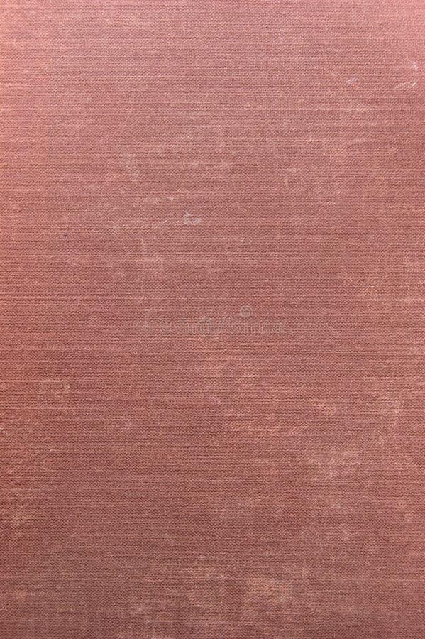 Ausführlicher tiefroter Grunge Leinenbeschaffenheits-Hintergrund lizenzfreies stockfoto