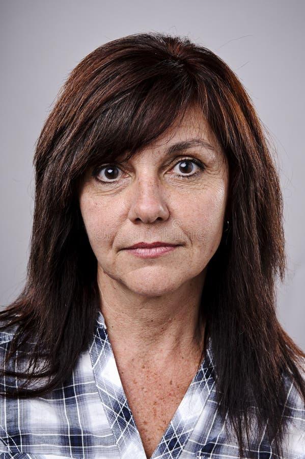 Ausführliches Portrait stockfoto