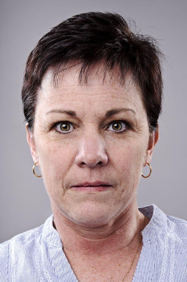 Ausführliches Portrait lizenzfreie stockbilder