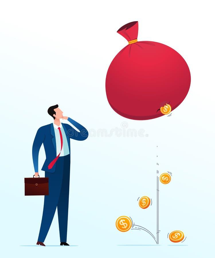 Ausfall-Investition lizenzfreie abbildung