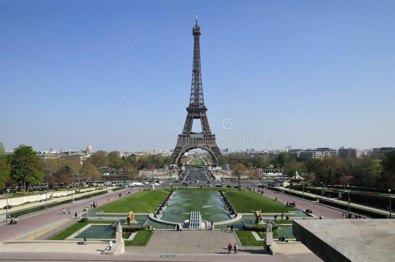 Ausflug Eiffel. Paris stockbilder