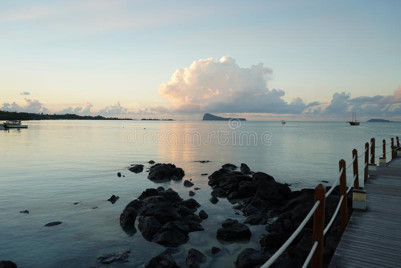 Ausflug Mauritius lizenzfreies stockbild