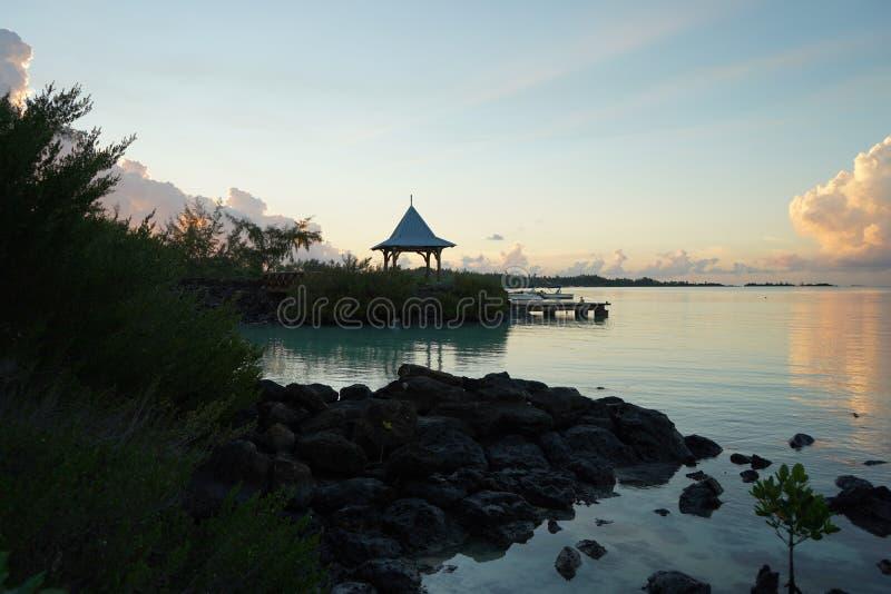 Ausflug Mauritius stockbild