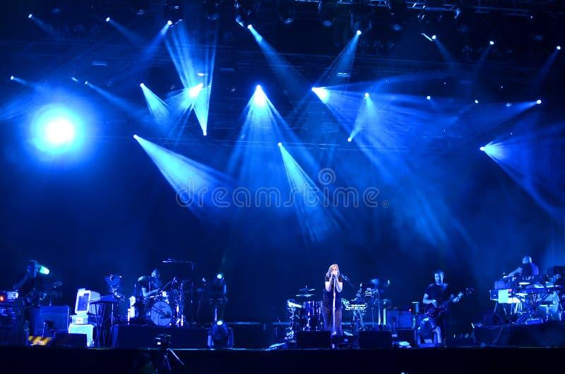 Ausgangs-Festival - Portishead lizenzfreies stockbild