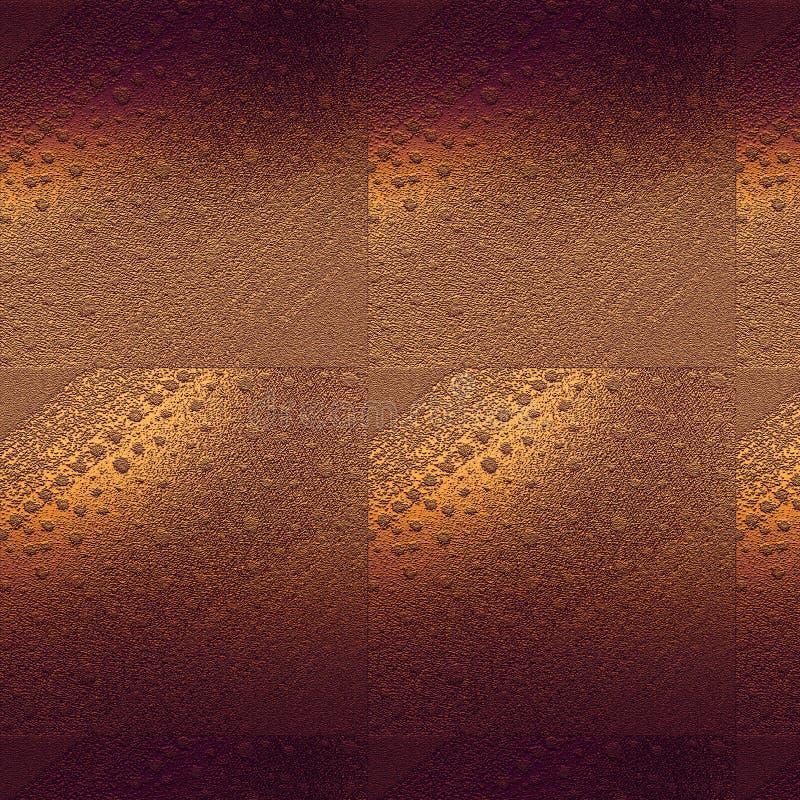 Ausgebesserte Goldoberfläche maserte Hintergrund Rauer grungy Beschaffenheitshintergrund lizenzfreie stockbilder