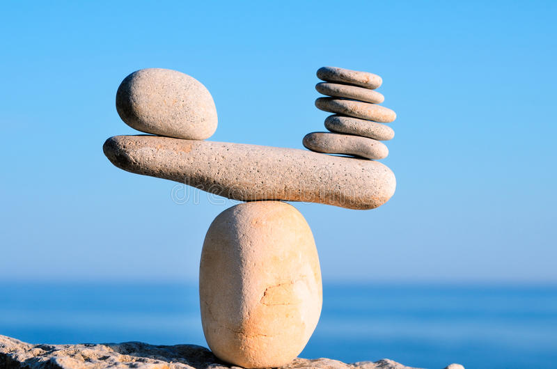 ausgeglichen lizenzfreies stockbild