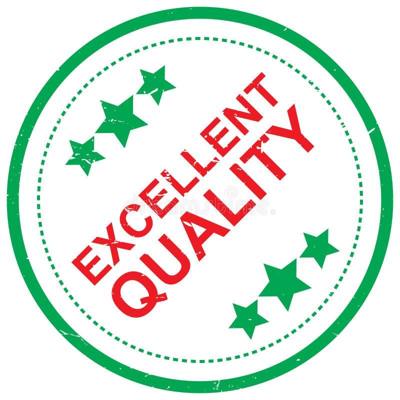 Ausgezeichnete Qualität lizenzfreie abbildung