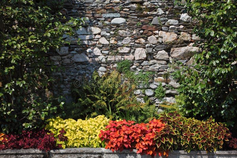 Ausgezeichneter dekorativer Park auf Insel lizenzfreies stockfoto
