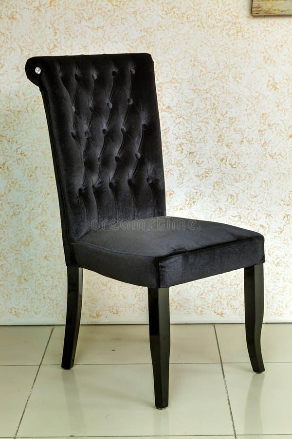 Ausgezeichneter schwarzer Stuhl stockfotos