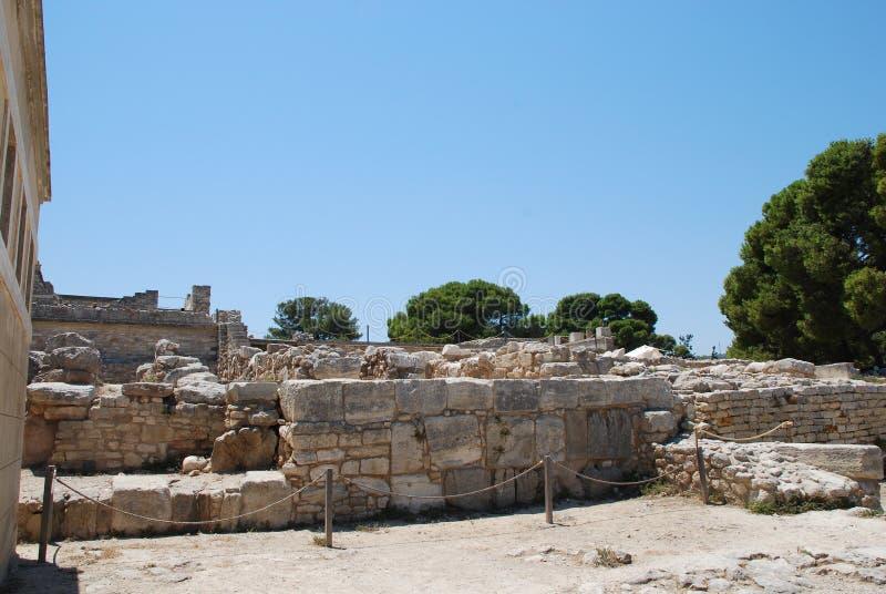 Aushöhlungen der alten Stadt von Iraklio, Kreta lizenzfreie stockfotos