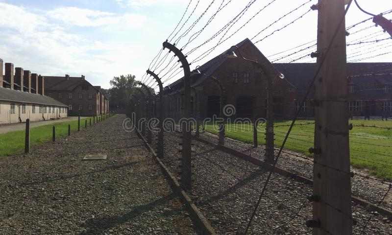 Aushwitz royalty free stock images