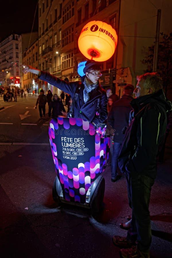Auskunft des Festivals der Lichter lizenzfreies stockbild