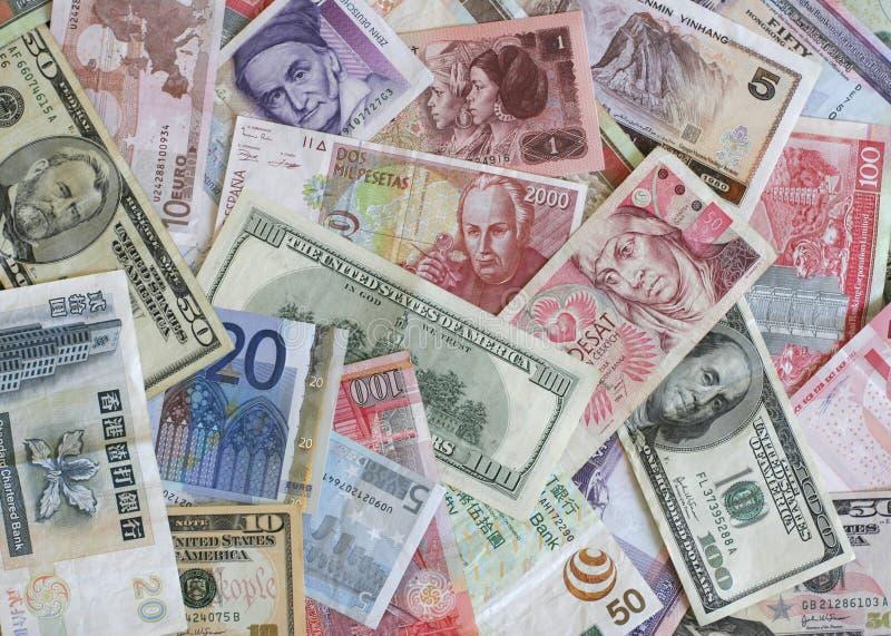 Ausländische Währung stockbilder