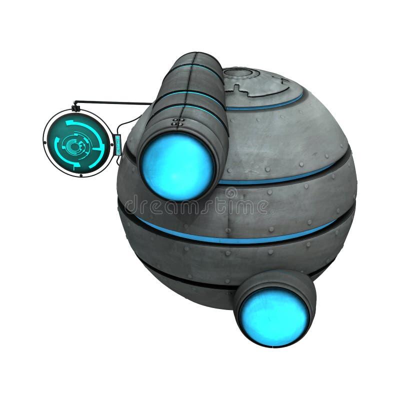 Ausländisches Raumschiff vektor abbildung