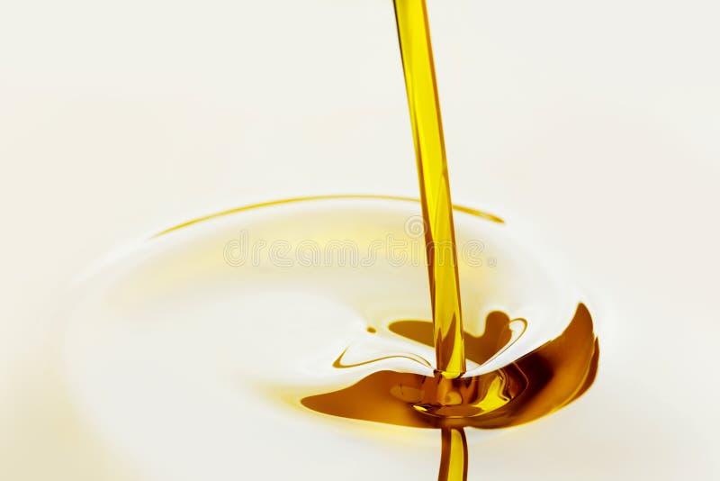 Auslaufendes Schmieröl stockfotos