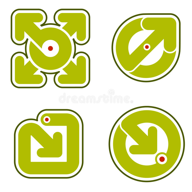 Auslegung-Elemente 31b lizenzfreie abbildung