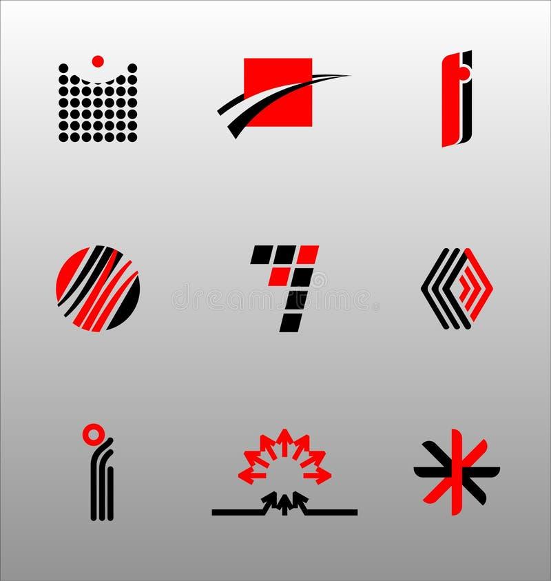 Auslegung-Elemente - Ikone stellte (4) ein