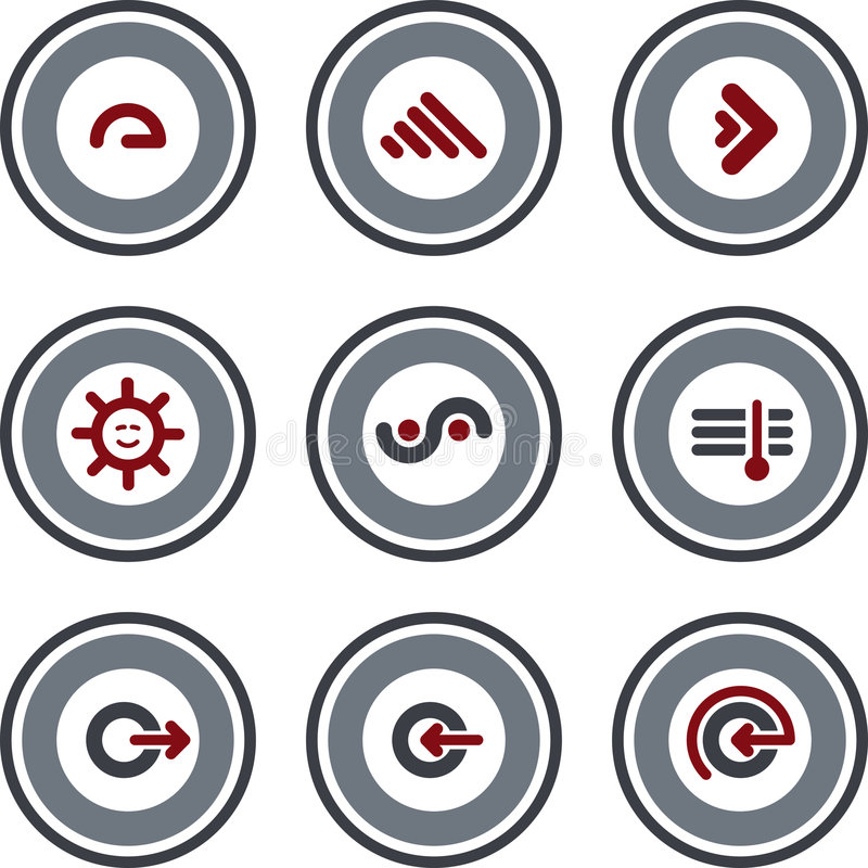 Auslegung-Elemente P. 10b stock abbildung