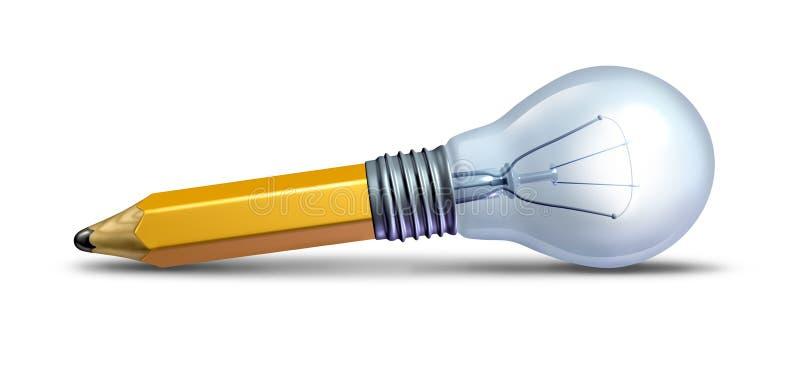 Auslegung und Innovation stock abbildung