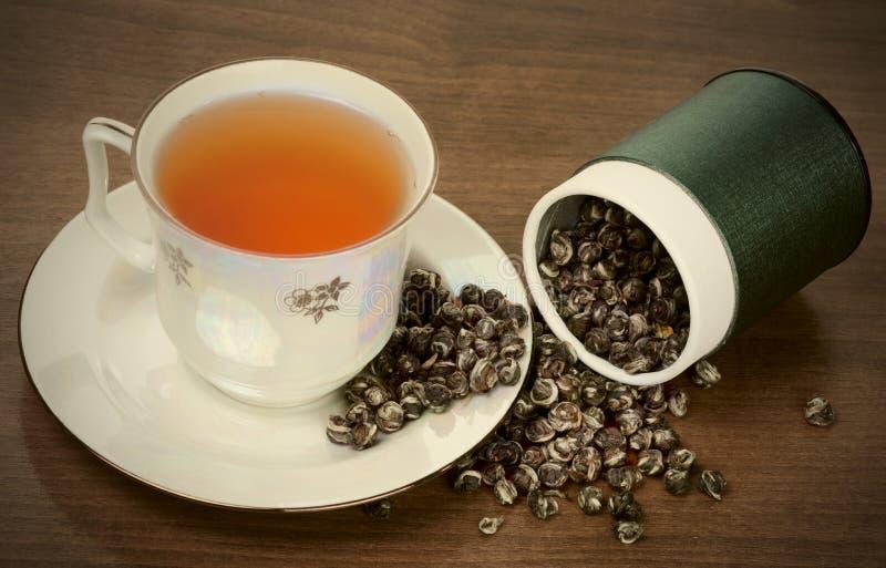 Auslese oolong Tee lizenzfreies stockbild