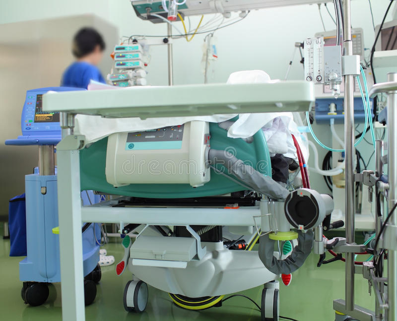 Ausrüstung in der Krankenstation lizenzfreies stockbild