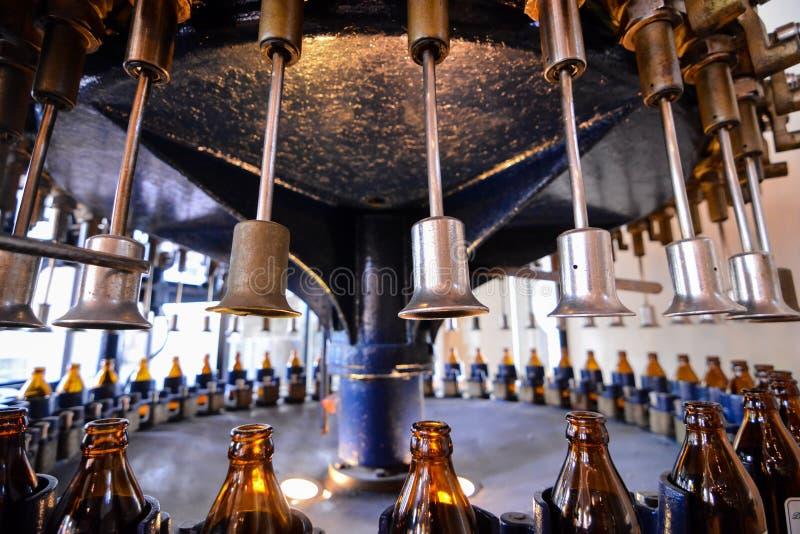 Ausrüstung für die Brauerei stockbilder