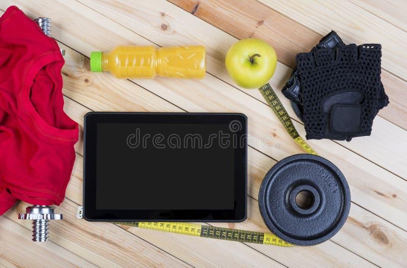 Ausrüstung für Eignung lizenzfreie stockfotos