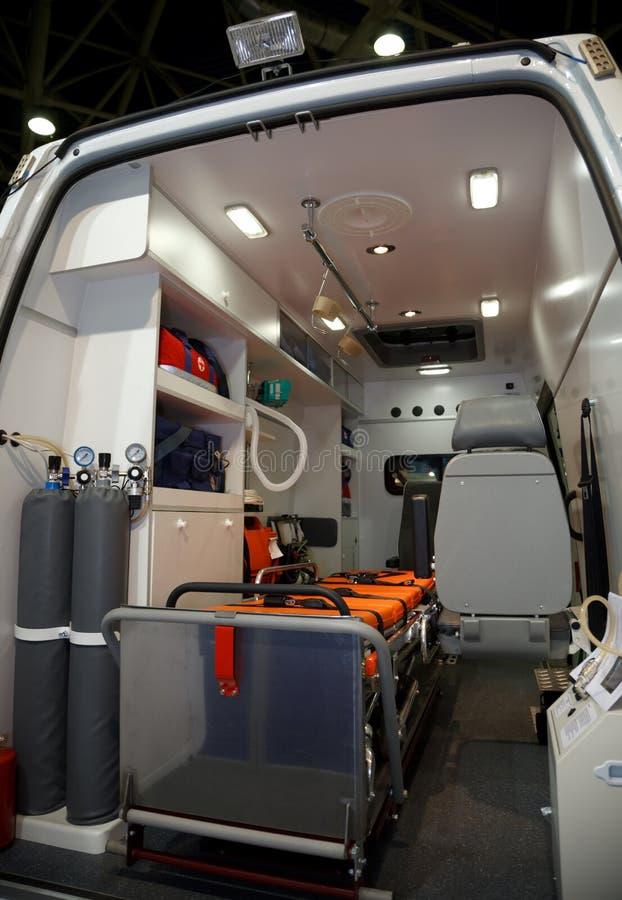 ausr stung f r krankenwagen ansicht von innen stockbild bild von unfall satz 14059625. Black Bedroom Furniture Sets. Home Design Ideas