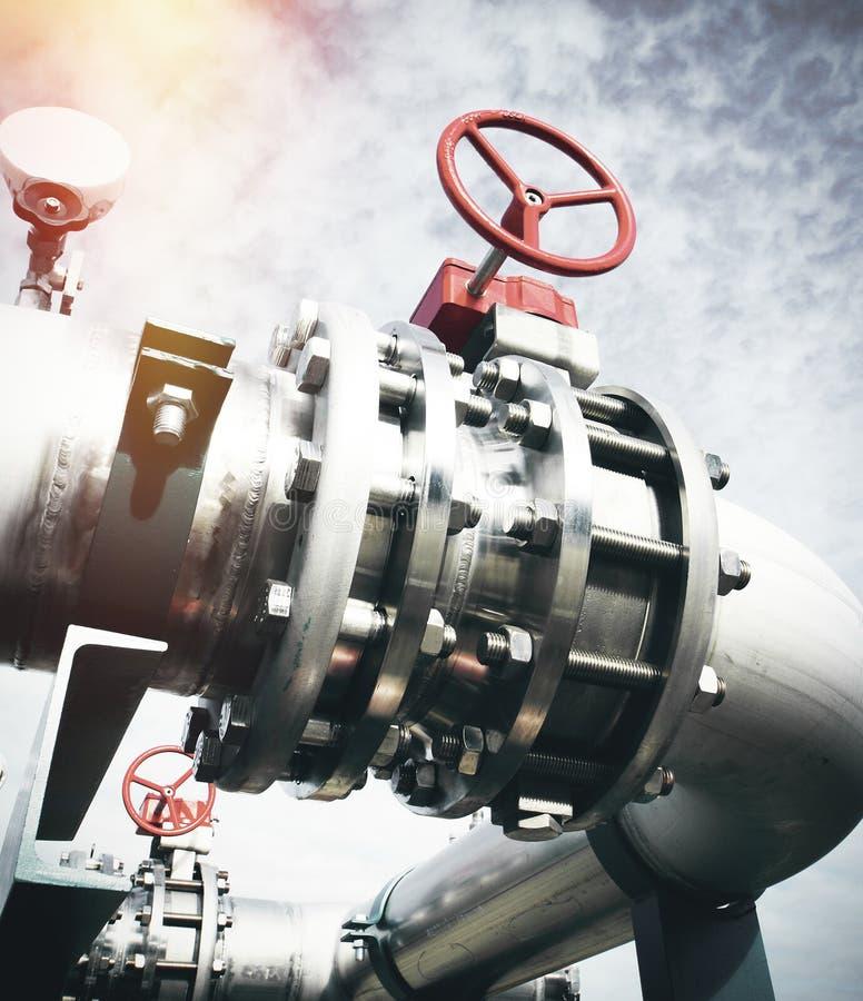 Ausrüstung, Seilzüge und Rohrleitung lizenzfreie stockfotografie