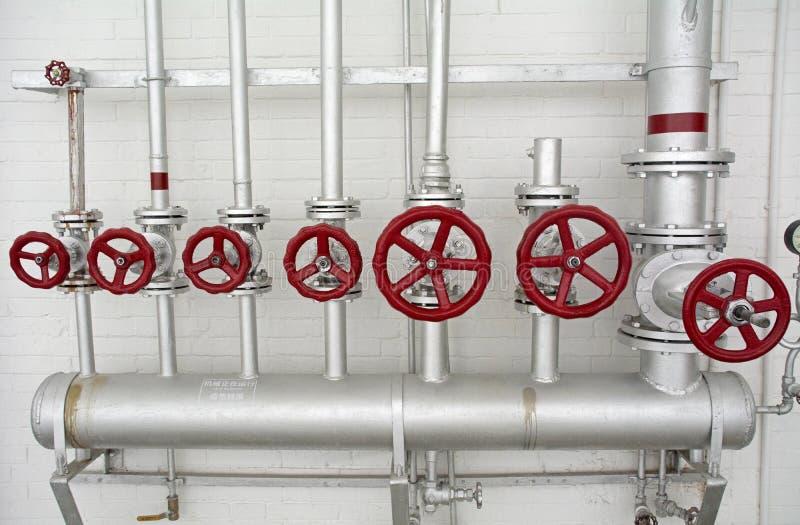 Ausrüstung und Rohrleitung lizenzfreies stockbild