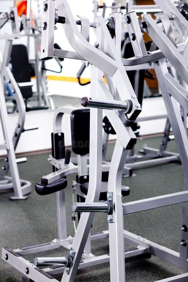Ausrüstungen von Gymnastik stockbilder
