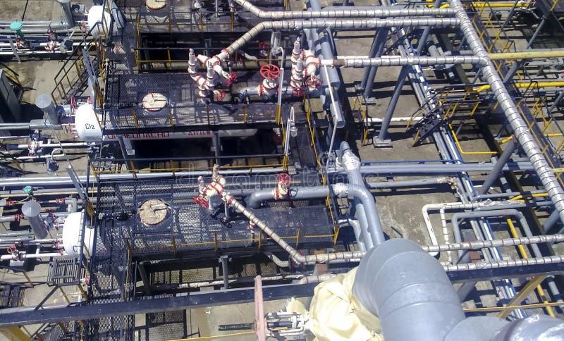 Ausrüstungsölfelder lizenzfreie stockbilder