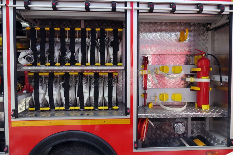 Ausrüstungsfeuer unterstützung lizenzfreie stockfotos