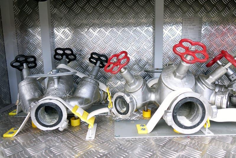 Ausrüstungsfeuer unterstützung stockbilder
