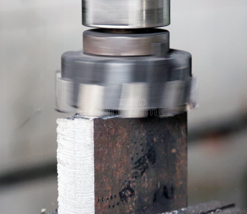 Ausschnitt des Metalls lizenzfreie stockfotografie
