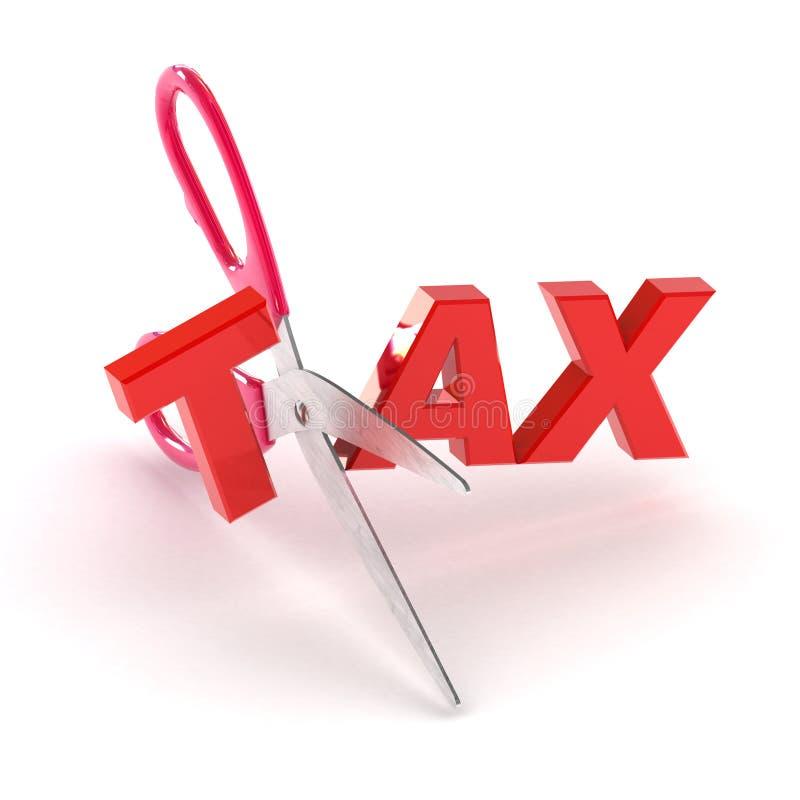 Ausschnitt-Steuer stock abbildung