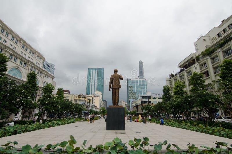 Ausschuss Saigon Vietnam der Leute-s stockfoto