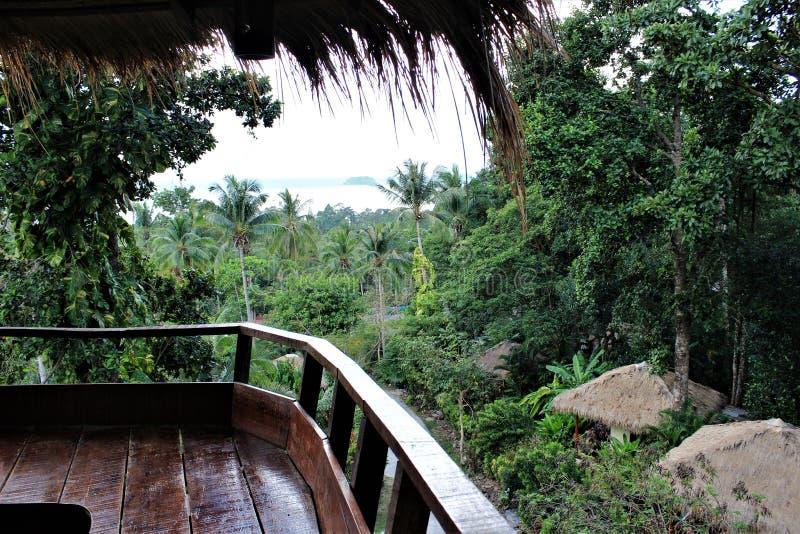 Aussichtsplattform, Koh Chang Island lizenzfreie stockbilder